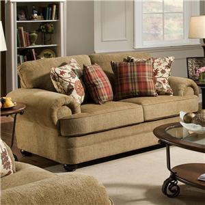United Furniture Industries 7530 Loveseat