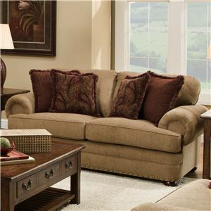 Simmons Upholstery 7553 Loveseat