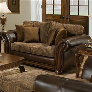 Simmons Upholstery 8104 Love Seat