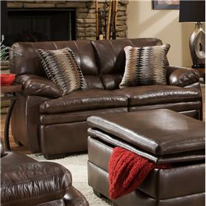 United Furniture Industries 9545 Casual Loveseat