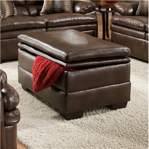 United Furniture Industries 9545 Storage Ottoman