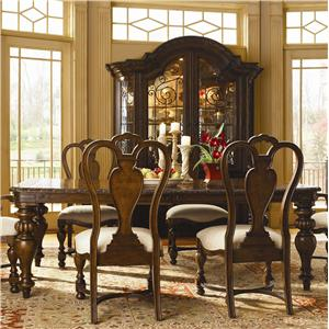 Great Rooms Bolero  5 Piece Dining Table and Chair Set