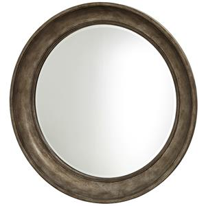 Universal California - Hollywood Hills Round Mirror