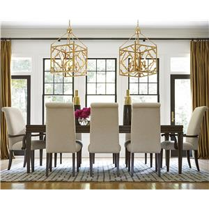 Great Rooms California - Hollywood Hills 9 Piece Dining Set