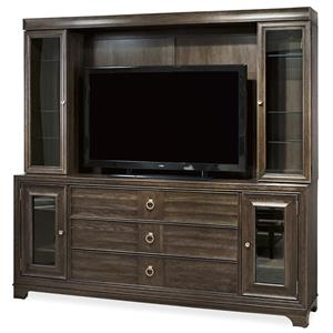 Great Rooms California - Hollywood Hills Entertainment Wall