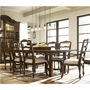 Great Rooms Cordevalle Table and Chair Set