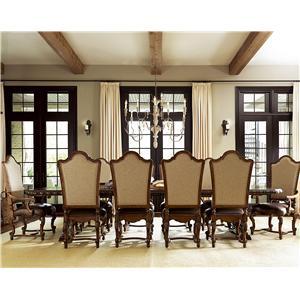 Great Rooms Escalera 11 Piece Dining Set