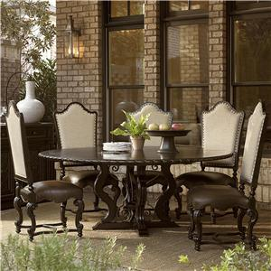 Universal Castella 6 Piece Toulon Dining Table Set