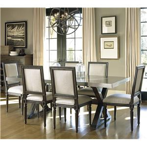 Universal Great Rooms - Berkeley 7 Piece Dining Set