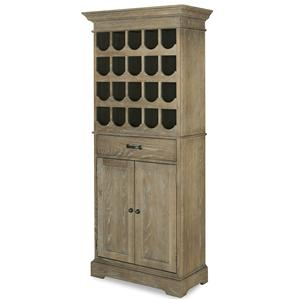 Universal Great Rooms - Berkeley Tall Wine Cabinet