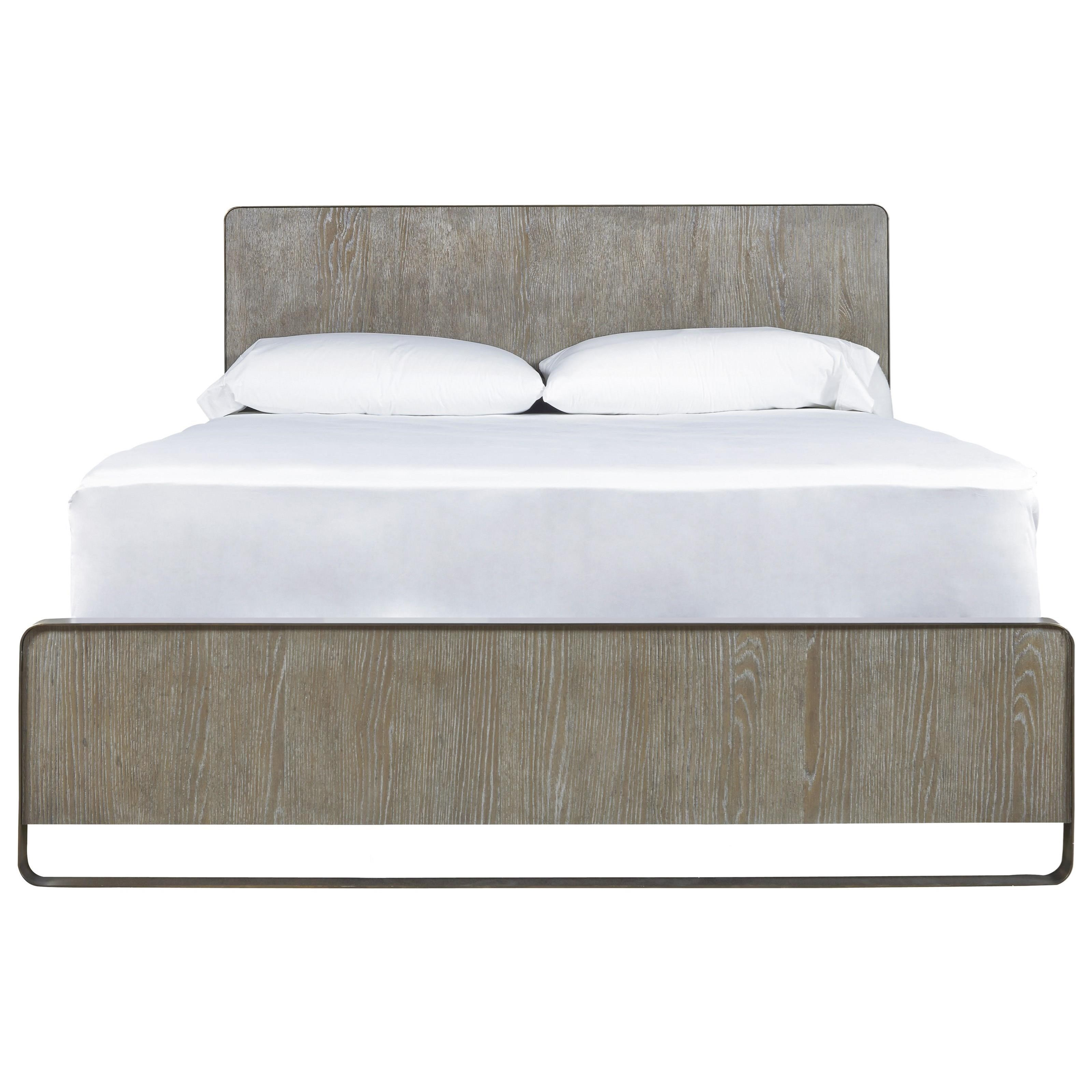 Keaton Cal King Bed with Metal Frame by Universal