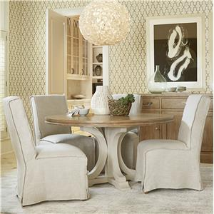 Great Rooms Moderne Muse 5 Piece Dining Set