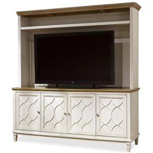 Great Rooms Moderne Muse Console with Deck