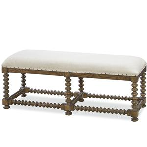 Morris Home Furnishings Bordeaux Bordeaux Bench
