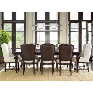 Great Rooms Proximity 9 Piece Dining Set
