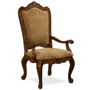 Universal Villa Cortina Upholstered Back Arm Chair