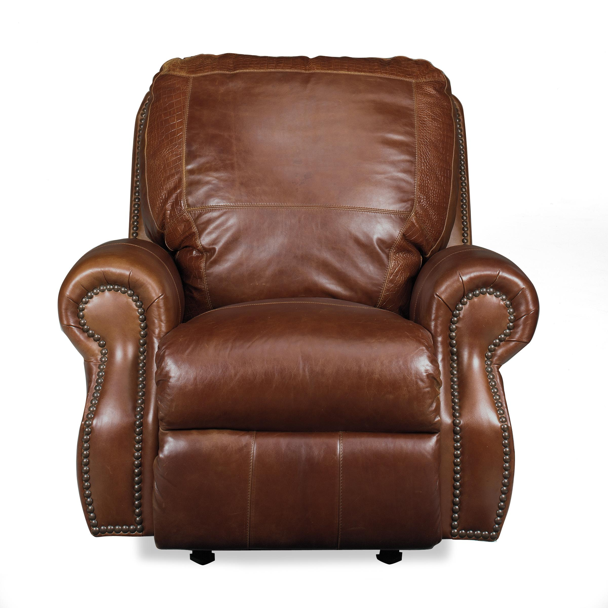Rolled Arm Rocker Recliner