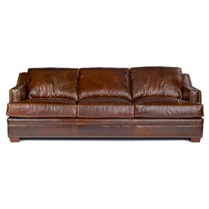 Sofa in 100% Leather Upholstery