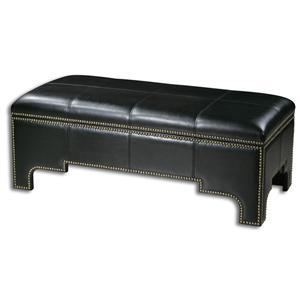 Uttermost Accent Furniture Onika Storage Bench