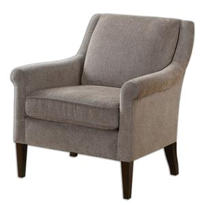 Uttermost Accent Furniture Nelle Herringbone Armchair