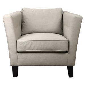 Uttermost Accent Furniture Izaak Modern Armchair