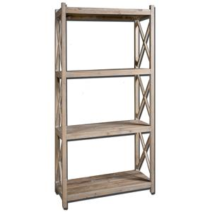 Uttermost Accent Furniture Stratford Etagere
