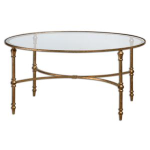 Uttermost Accent Furniture Vitya Glass Coffee Table