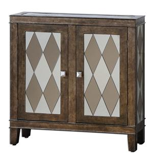 Uttermost Accent Furniture Trivelin Wooden Console Cabinet