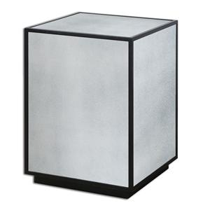 Uttermost Accent Furniture Matty Mirrored Side Table