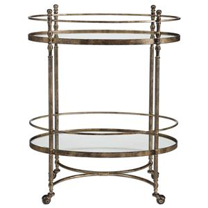 Uttermost Accent Furniture Zera Serving Cart