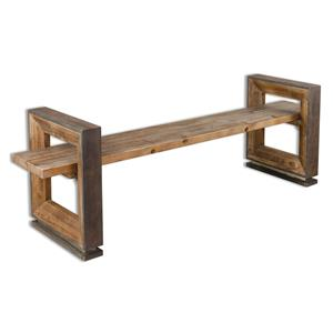 Uttermost Accent Furniture Parkyn Modern Bench