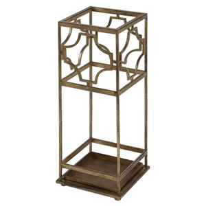 Uttermost Accent Furniture Genell Gold Iron Umbrella Stand