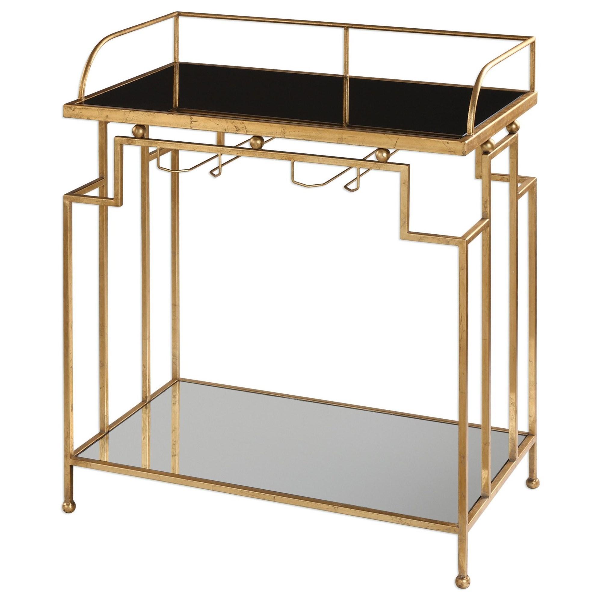 Burgess Gold Bar Cart