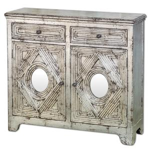 Uttermost Accent Furniture Emrick Console Cabinet