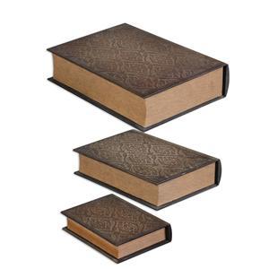 Uttermost Accessories Script Boxes Set of 3
