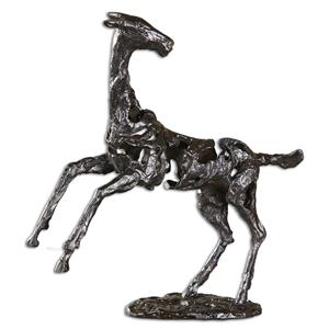 Uttermost Accessories Rearing Horse Sculpture