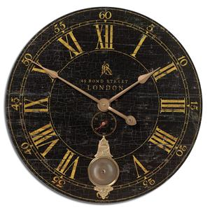 """Uttermost Clocks Bond Street 30"""" Clock"""
