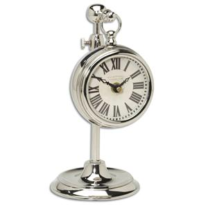 Uttermost Clocks Pocket Watch Nickel Marchant Cream Clock