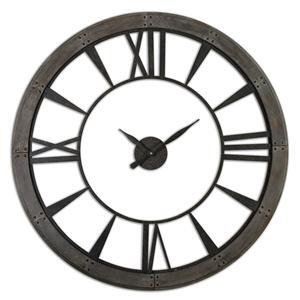 Uttermost Clocks Ronan Wall Clock, Large