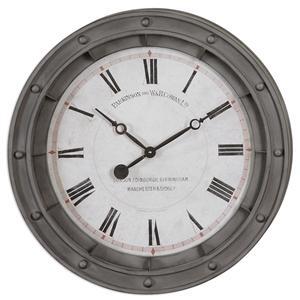 Uttermost Clocks Porthole Wall Clock
