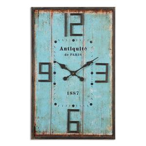 Uttermost Clocks Antiquite Distressed Wall Clock