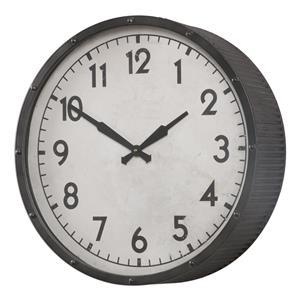 Uttermost Clocks Berta Ivory Wall Clock