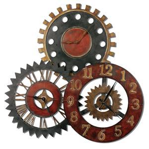 Uttermost Clocks Rusty Movements Clock