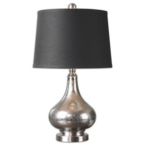 Uttermost Lamps Chariton Mercury Glass Lamp