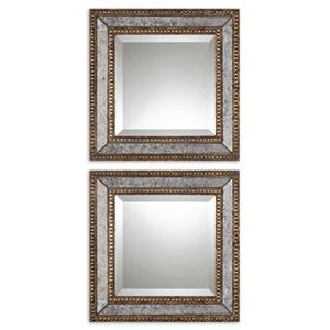 Uttermost Mirrors Norlina Squares Set of 2
