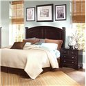 Vaughan Bassett Hamilton/Franklin Night Stand with 2 Drawers - Nightstand Shown with Panel Bed