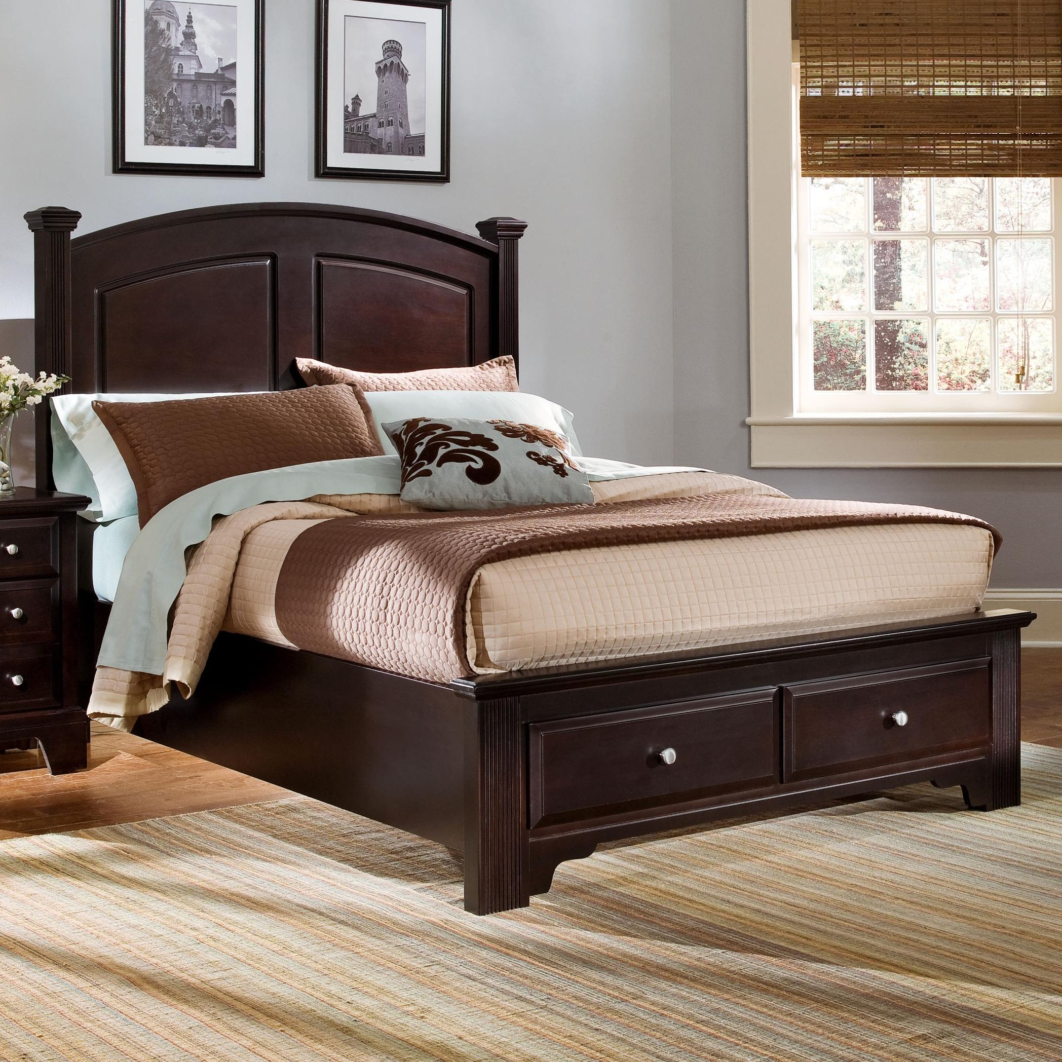 Full Panel Storage Bed By Vaughan Bassett Wolf And Gardiner Wolf Furniture