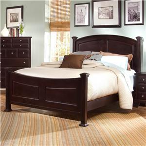 Vaughan Bassett Hamilton/Franklin Queen Panel Bed