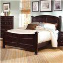 Vaughan Bassett Hamilton/Franklin Full Panel Bed - Item Number: BB4-556+655+911
