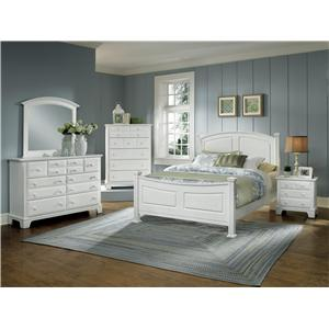Vaughan Bassett Hamilton Franklin Queen Bedroom Group